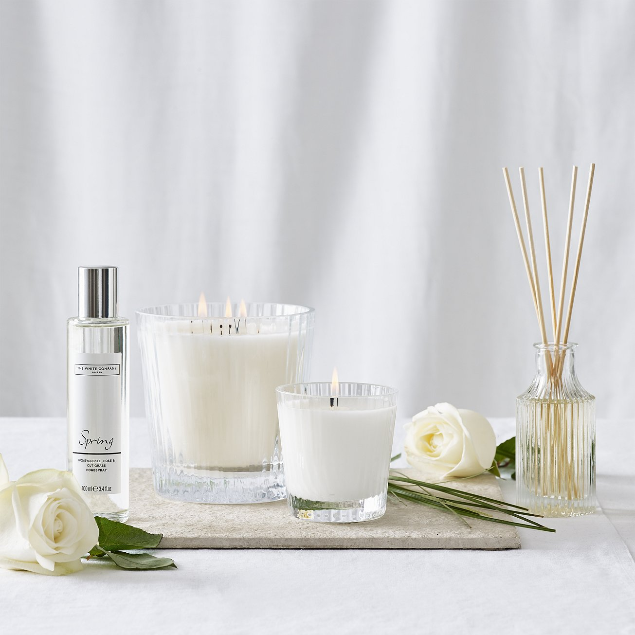 The Spring collection features fragrances such as  honeysuckle, rose, jasmine and lilac combine with the earthy aroma of freshly mown grass, how refreshing. - £16.00