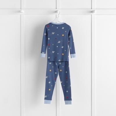 7255f75c4 Space Print Pajamas Snug Fit
