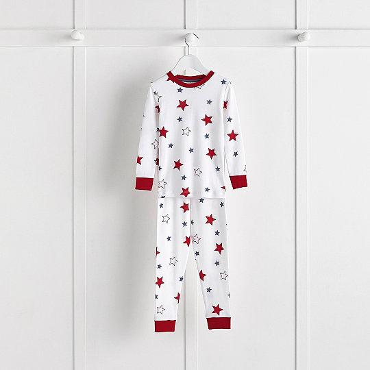 10afb4cae Star Print Pajamas Snug Fit