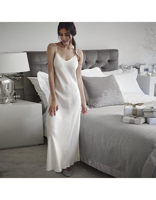 ed0821e2a1 Long Silk Night Gown