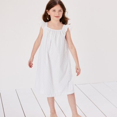 Swiss Dot Nightdress (1-12yrs)