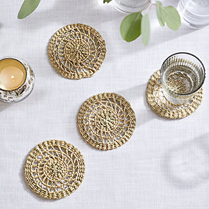 Seagrass Coasters – Set of 4