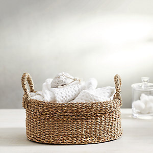 Seagrass Small Oval Basket