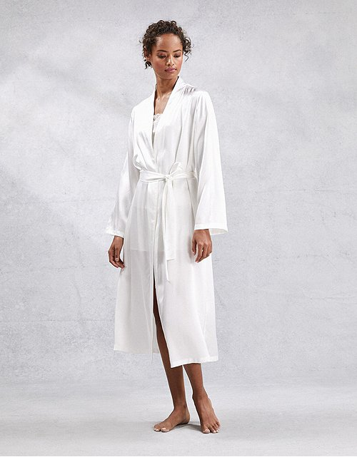 Bathrobes Dressing Gowns Luxury Cashmere The White