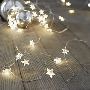 Star Fairy Lights - 40 Bulbs