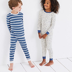 Stars & Stripe Pajamas - Set of 2 (1-12yrs)