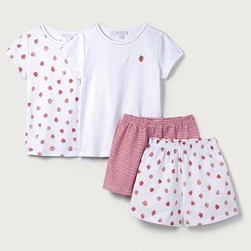 f79ce1f11 Strawberry Print Pyjamas - Set of 2 (1-12yrs)