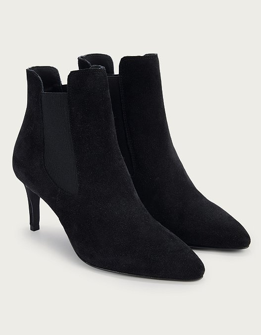 classic styles hot-seeling original finest selection Suede Kitten Heel Boots