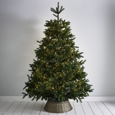 Natural Christmas Tree.Symons Nordmann Christmas Tree 9ft