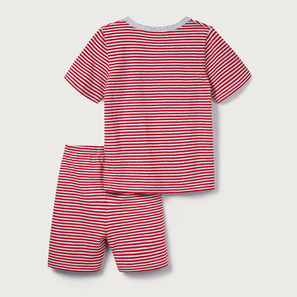09e2a8e8 Tennis Stripe Pyjamas (1-12yrs)   Boys' Nightwear   The White Company UK