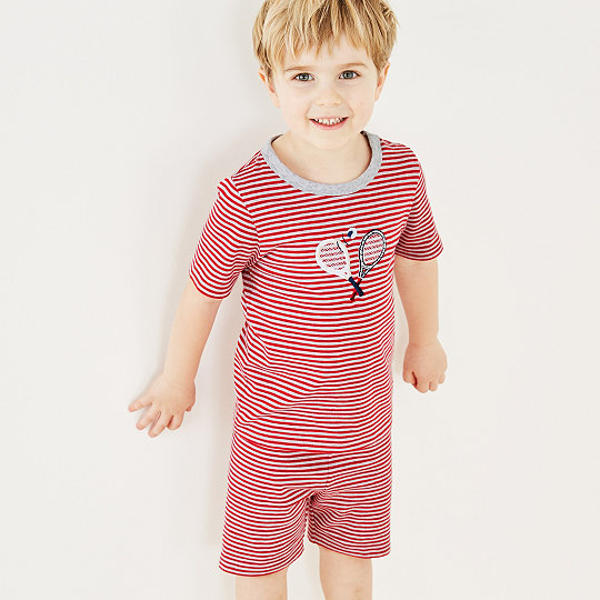 b626e8b0 Added to bag. Checkout. Continue shopping. The White Company · The Little  White Company · Boys · Boys' Nightwear; Tennis Stripe ...