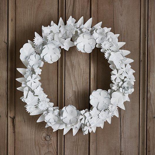 Christmas Wreaths.Ultimate Metal Wreath