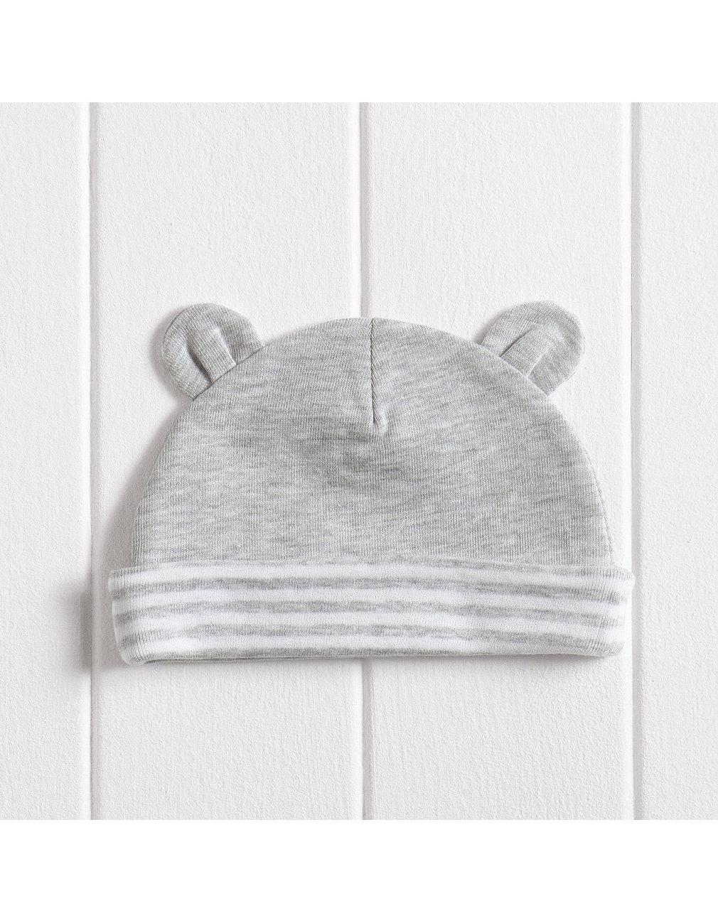 2e177e088 Unisex Bear Ears Baby Hat