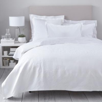 Vintage Etienne Bedspread - White