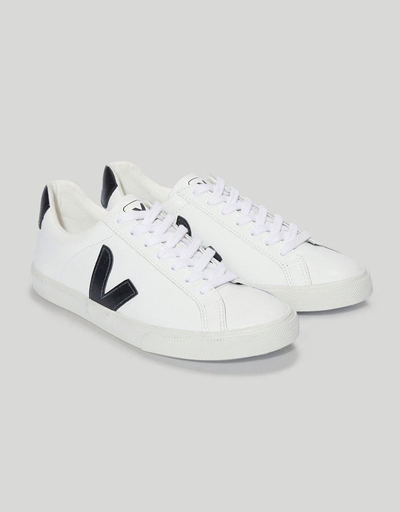 new high ever popular genuine shoes Veja Esplar Leather Trainers