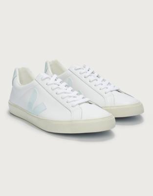 borracho Restringido Triturado  Veja Esplar Leather Trainers | Shoes, Sandals & Trainers | The White  Company UK