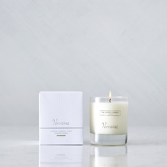 The White Company Verveine Candle