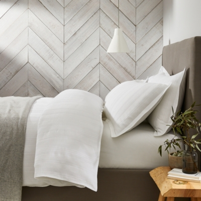 Waffle Stripe Cushion Cover