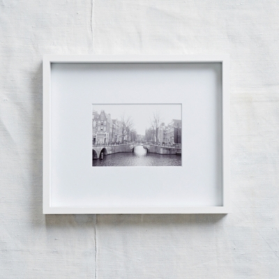 "Fine Wood Photo Frame 5x7"" - White"