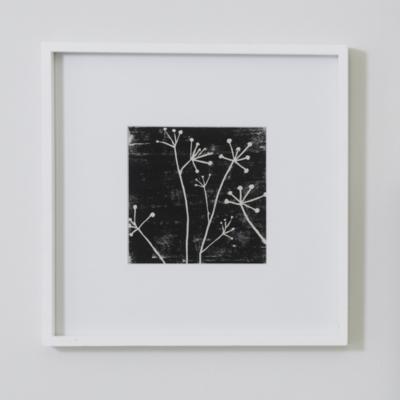 "Fine Wood Photo Frame 8x8""  - White"