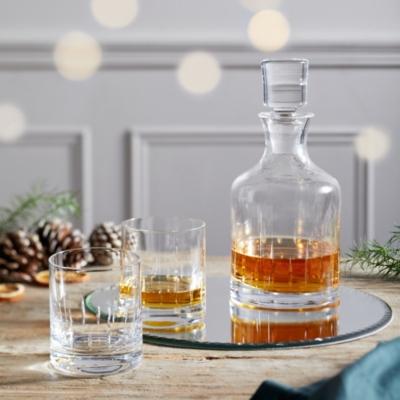 Whiskey Glasses & Decanter Set