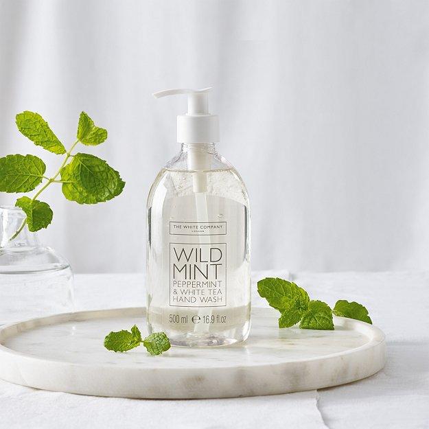 Wild Mint Hand Wash Hand Wash Amp Soap The White Company Uk