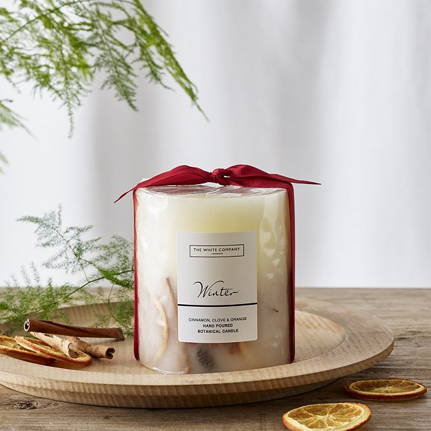 White Company Winter Candle