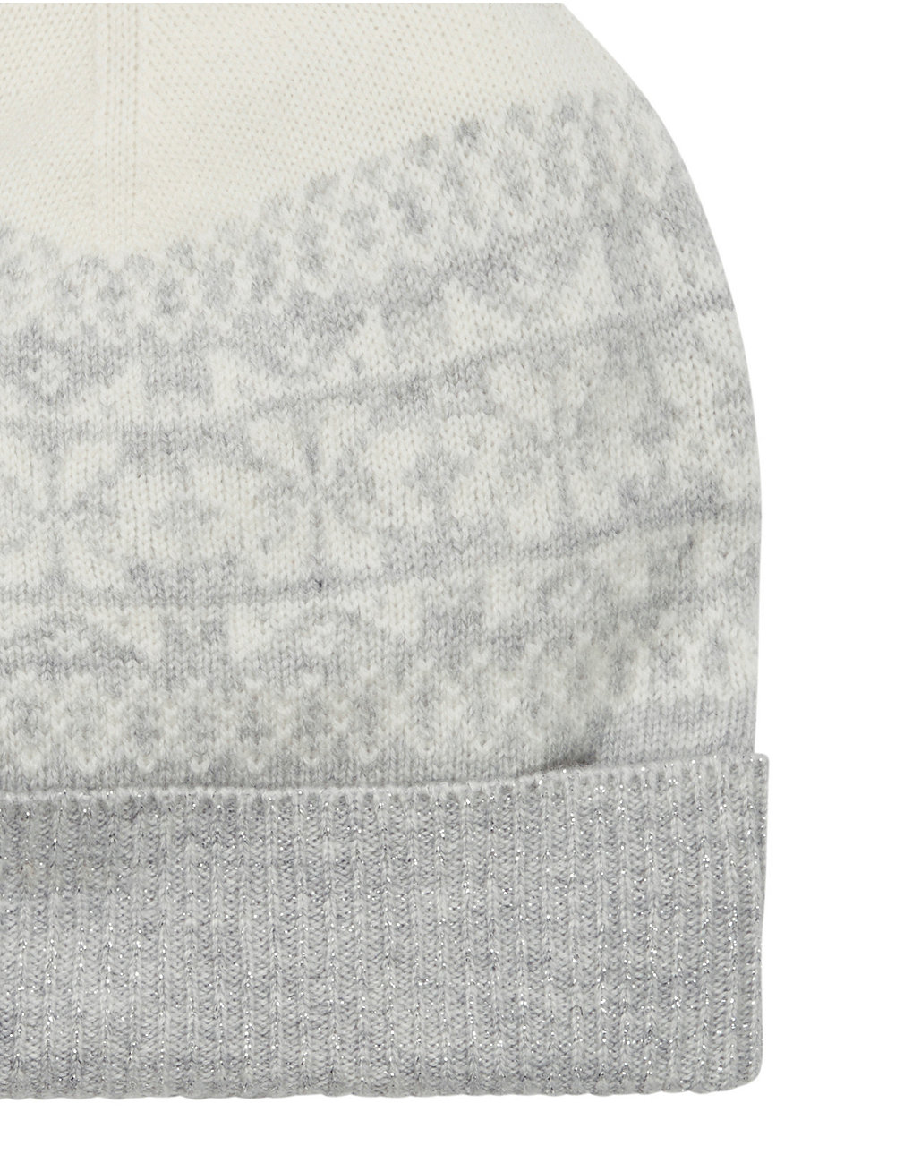 b8523edba49 Wool-Cashmere Fair Isle Beanie Hat. Press to zoom. Swipe for more images.