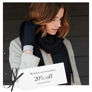20% off Selected Accessories