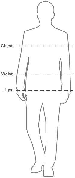 Mens Size Chart   The White Company UK